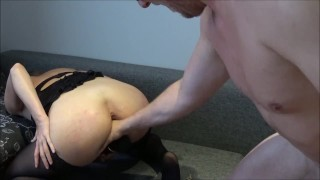 Beautiful Slave Has Two Squirting Cum During Brutal Hard Fuck Shaved dildo