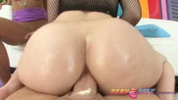 PervCity Krissie and Proxy Asian Anal Threesome