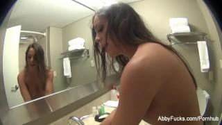 Adventures with brunette pornstar Abigail Mac