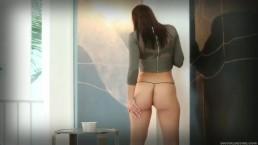 色白モデル級海外美女が下着を外して乳首を弄るやばすぎる誘惑動画