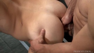 Cock Virgins Horny Wrestlers At Each Other's Dicks