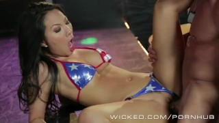 Wicked - Asa Akira and friends get ass fucked by Strippers Girl next