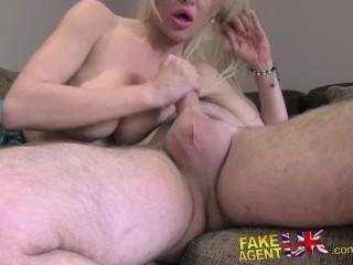 FakeAgentUK Hard office fucking for sexy blonde Liverpool minx