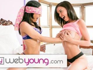 WebYoung Dillion Harper Toying Teen Lesbian main image