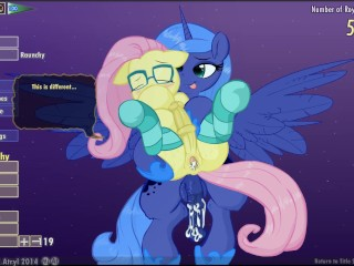 Preview 6 of Fluttershy & Luna Lucent Dreams by Mittsies and Atryl