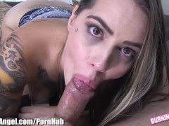 Aroused Emo Babe POV Blow and Fuck
