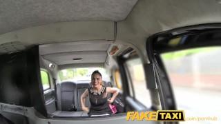 FakeTaxi Sassy Romanian with perfect tits gets taxi facial porno