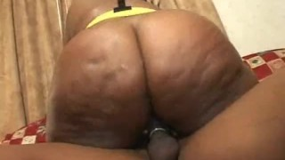 Ebony BBW Extracts Cum From His Guy