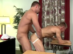 Extra Big Dicks Hung Coach Fucking One Of His Students