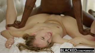 BLACKED First Interracial Foursome for Babes Karla Kush and Jillian Janson Butt pants
