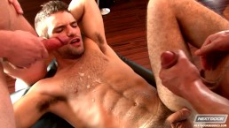 Next Door Buddies Adam Wirthmore Covered With Cum