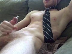 Horny Young Guy Can't Edge Anymore And Explodes