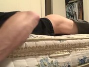 fuck hole in bed thinking of pussy
