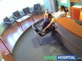 FakeHospital Nurse cures studs depression by letting him cum on her pussy