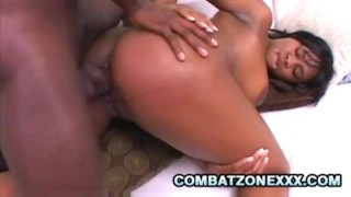 Nazar – Cock Hungry Black Bitch Swallowing Black Cum