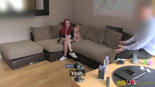 Fucking redhead massive fakeagentuk gets with teen a tits hard good orgasm titty