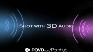 POVD - August Ames gets her ass slapped and fucked  doggy style big-tits cock-sucking shaved-pussy oral hd point-of-view canadian blowjob pov hardcore brunette reverse-cowgirl raw big-dick povd cusmhot