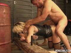 Analyzing Monicamilf s Norwegian ass - anal punishment