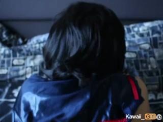 Girlfriend In Cosplay Gets A Facial , Ryuko Matoi Senketsu Swimsuit