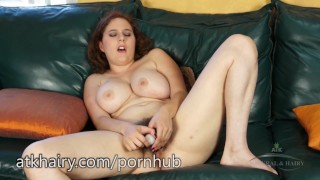 Eleanor gets orgasms all day long  hairy armpit big tits hairy pussy hairy redhead dildo masturbate amateur thick curvy all natural beaver adult toys atkhairy