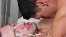 GayRoom - Bryan Coles pierced cock sucked and fucked by Tyler Saint