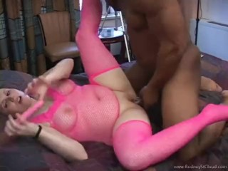 Alexsis Sweet again submits to hot rod's BBC with piss!