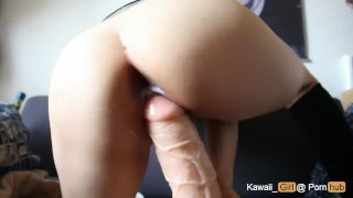Huge Dildo For Tight Teen Pussy Big ejaculation