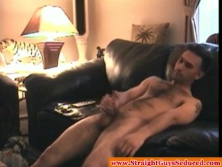 Amateur straightbait facializes cocksucking gay buddy