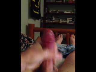 Some high flying streams of cum