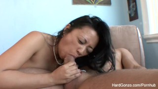 Asian MILF Lucky Starr loves to get fucked  doggy style bj asian mom blowjob puba hardcore milf brunette cowgirl filipina nylons mother hardgonzo stockings blow job cum in mouth