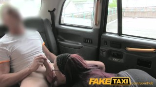 FakeTaxi Secretary looking lady with huge tits and a slippery pussy Skinny alice