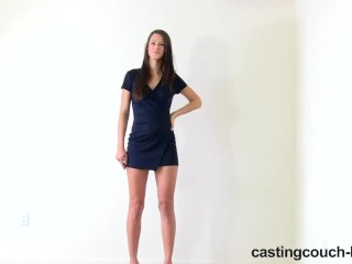 Italianloans Com CastingCouch - HD Natalie the really tall girl rides a dick on camera