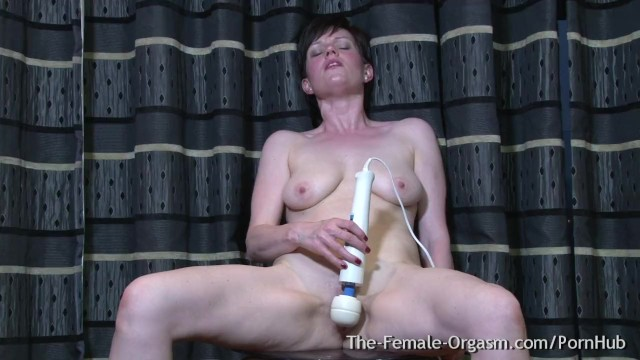 Multi vibrator Multi orgasmic milf pops out pussy pulsating orgasms