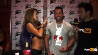 PornhubTV Johnny Castle Interview at 2015 AVN Awards