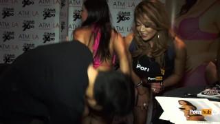 Avn pornhubtv at sins selma awards interview entertainment awards