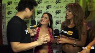 PornhubTV Selma Sins Interview at 2015 AVN Awards Munchers university