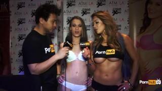PornhubTV Kacy Lane采访2015年AVN奖