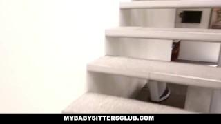 MyBabySittersClub - Blonde BabySitter wants to Fuck