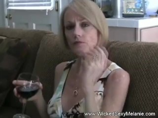 GILF Tries A Young Man's Cock