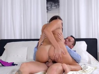 Highest Rated Porn Fucking, Busty European Sex Goddess gets Titty Fucked Hard
