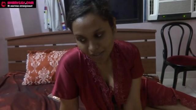 Sucking dildos Indian sex video of amateur pornstar babe lily sucking a dildo masturbating