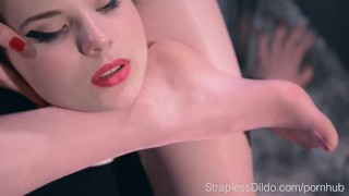Sex Starved Doll is Strapon Fucked Hard by Maria Pie porno
