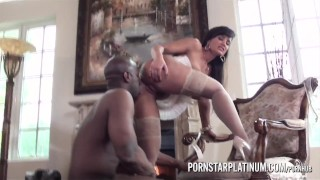 PornstarPlatinum – Lisa Ann needs big black cock