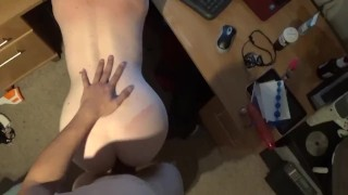 POV doggystyle fucking my wife on cam OurDirtyLilSecret