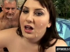 Plumper Jane gets gang banged