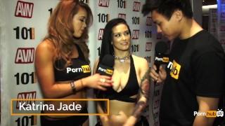 PornhubTV Katrina Jade Interview at 2015 AVN Awards Cock latino