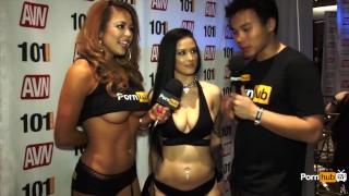 Pornhubtv avn interview katrina at awards jade awards scenes
