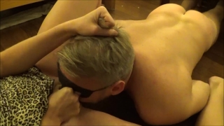 Unbelievable Huge Squirting Orgasm after Hard Pussy Eating.