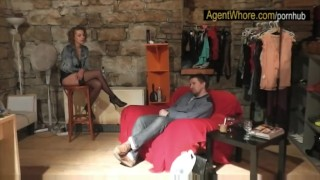 Redhead slovak casting guy gets from blowjob reversed milf handjob reality