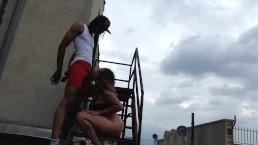 Rooftop speeding clip